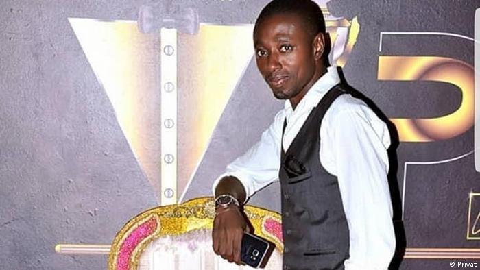 Guinea Bissau Carlos Uissa, Inhaber der VIP-Disco