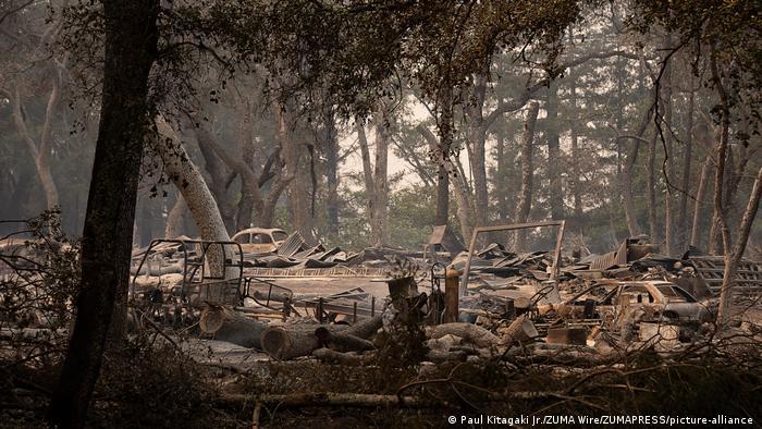 USA Kalifornien Waldbrände