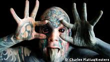 BdTD Frankreich Freaky Hoody Tattoos