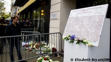 Paris Gedenkstätte Charlie Hebdo Anschlag (Elizabeth Bryant/DW)