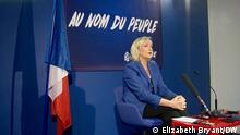 Paris Marine Le Pen Front National