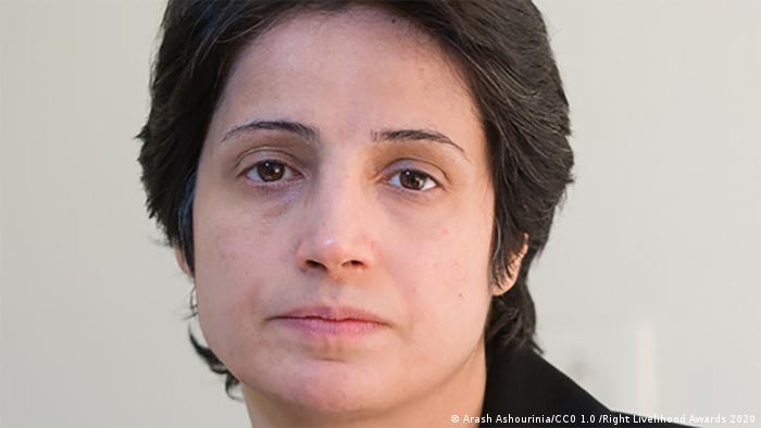 SPERRFRIST 01.10.2020 / 9 Uhr MESZ / Right Livelihood Awards 2020, Nasrin Sotoudeh, Iran (Arash Ashourinia/CC0 1.0 /Right Livelihood Awards 2020)