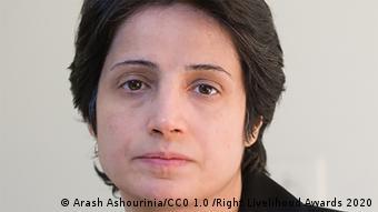иранская правозащитница Насрин Сотудех