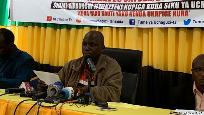 Tansania Wahl Charles Mahera