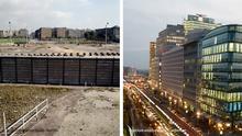 Deutschland Der Potsdamer Platz 2011 und 2014 in Berlin