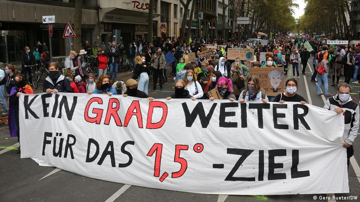 Deutschland Demonstration von Fridays for Future in Köln