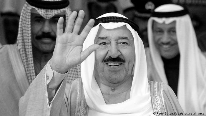 Sabah al-Ahmed | Emir von Kuwait (Raed Qutena/dpa/picture-alliance)
