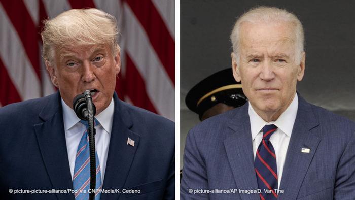 Trump si Biden
