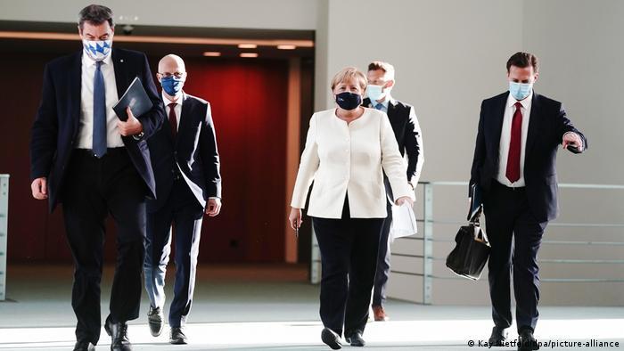 Deutschland Berlin |Beratungen über die Corona-Pandemie (Kay Nietfeld/dpa/picture-alliance)