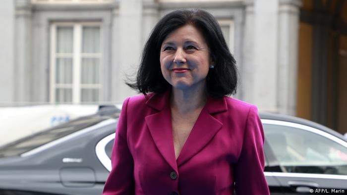 EU Die Vize-Präsidentin der Europäischen Kommission Vera Jourova in Brüssel