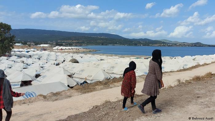 Griechenland Flüchtlingslager auf Lesbos