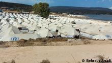 29.9.2020, Lesbos, Griechenland, Unterbringung von Flüchtlingen in Zeltlagern auf Lesbos // Redaktion: Maryam Ansary