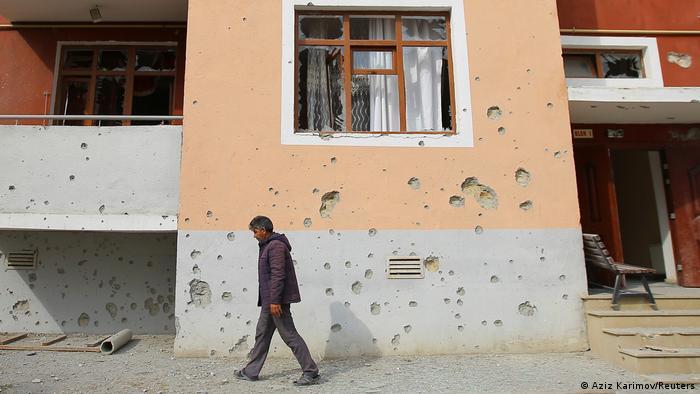 Posledice granatiranja u Nagorno-Karbahu
