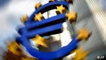 Eurozeichen. (Foto: ap)