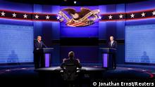 USA Präsidentschaftswahlen TV Debatte Trump Biden
