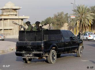 A private patrol in Baghdad