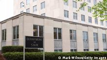 WASHINGTON, DC - APRIL 19: The Department of State building is shown on April 19, 2019 in Washington, DC. (Photo by Mark Wilson/Getty Images)