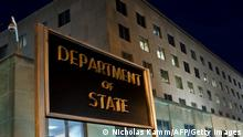 The US State Department is seen on November 29, 2010 in Washington, DC. Top US diplomat Hillary Clinton accused WikiLeaks of an attack on the world, as key American allies were left red-faced by embarrassing revelations in a vast trove of leaked memos. In a lengthy statement, the secretary of state attempted damage limitation as she told reporters the United States deeply regrets the release of the 250,000 diplomatic cables, all apparently from the State Department. AFP PHOTO / Nicholas KAMM (Photo credit should read NICHOLAS KAMM/AFP via Getty Images)