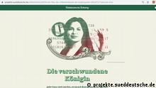 """30.09.2020 *** Die verschwundene Königin. Jeder kann reich werden, versprach Ruja Ignatova, Juristin aus dem Schwarzwald. Millionen Menschen investierten in ihre digitale Währung. Doch die war ein riesiger Betrug - und von der """"Kryptoqueen"""" fehlt jede Spur. nQuelle: https://bit.ly/2Gj9MfE"""
