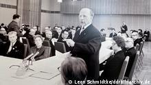 Deutschland - DDR Treffen von DDR-Staats- und Parteichef Walter Ulbricht mit Privatunternehmern