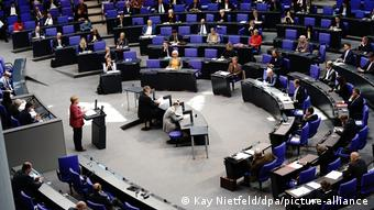 Deutschland Bundestag Bundeshaushalt