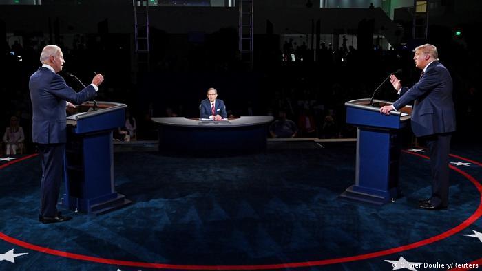 +++Für Faktencheck+++ US-Präsidentschaft I Debatte Joe Biden und Donald Trump (Olivier Douliery/Reuters)