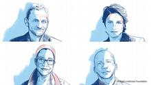 Portraits of winners of Right Livelihood Award 2020