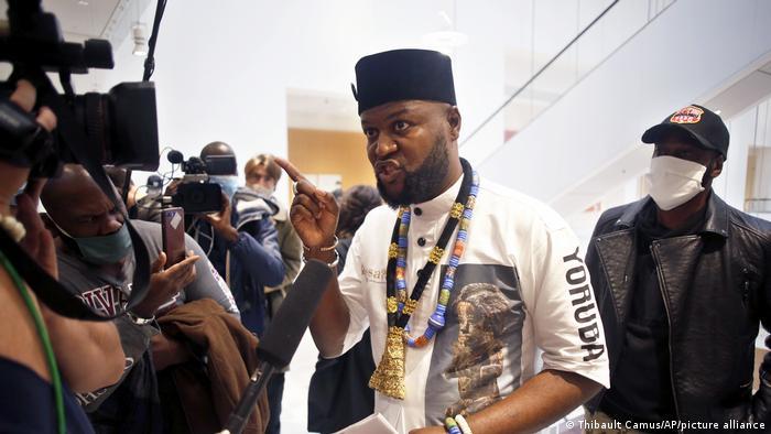Mwazulu Diyabanza, ativista congolês