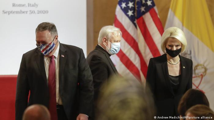US-Außenminister Pompeo im Vatikan