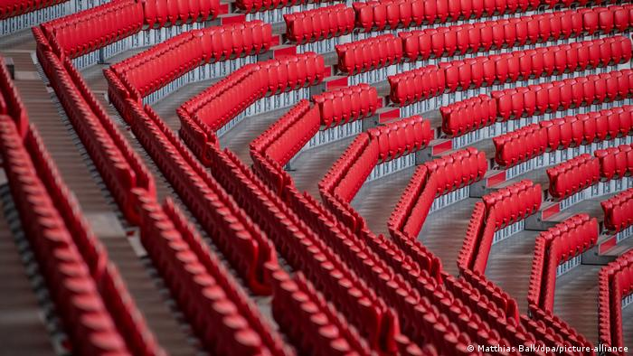 Deutschland Leeres Stadion