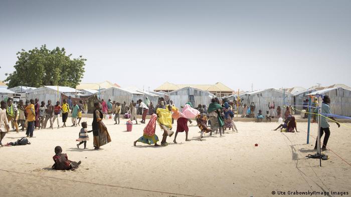 Nigeria Maiduguri   Flucht vor Boko-Haram   Flüchtlingslager