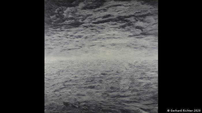 Eine See-Ansicht von Gerhard Richter, derzeit zu sehen im Kunstforum Wien (Gerhard Richter 2020)