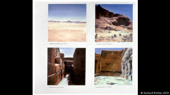 G. Rihter, Egipatski pejzaži, 1964-1965, 150X165cm, privatno vlasništvo
