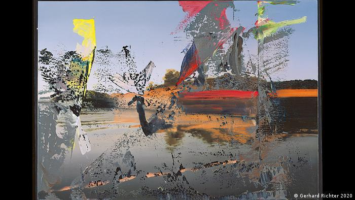 Gerhard Richters Ölgemälde von 1986 zeigt eine fast fotorealistische Ansicht der italienischen Lagunenstadt. Das Kunstforum Wien zeigt Gerhard Richters Landschaften. (Gerhard Richter 2020)