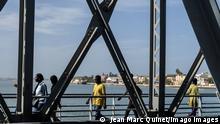Senegal Saint Louis | Erinnerung Kolonialzeit | Faidherbe Brücke