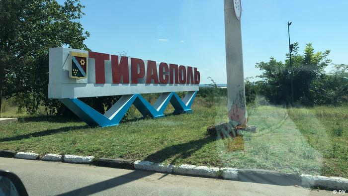 Tiraspol, capitala regiunii separatiste Transnistria