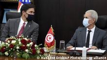Tunesien Tunis | Treffen Verteidigungsminister | Bartagi und Esper