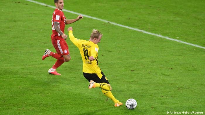Deutschland München | DFL-Supercup | Tor für Borussia Dortmund
