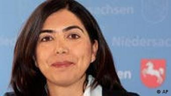 Lower Saxony's minister of social affairs Ayguel Oezkan