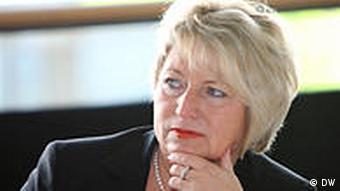 Deutsche Welle Besuch von Cornelia Pieper