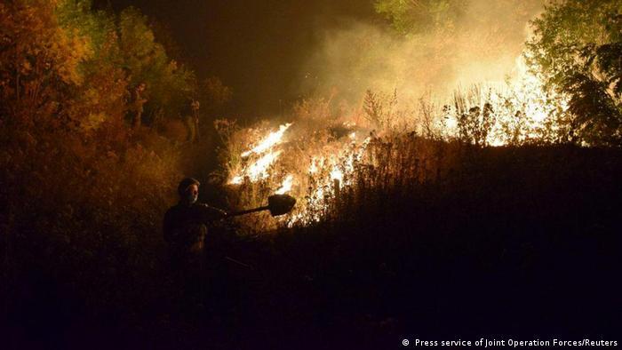 Еко-пожежа на Луганщини сягнула межі