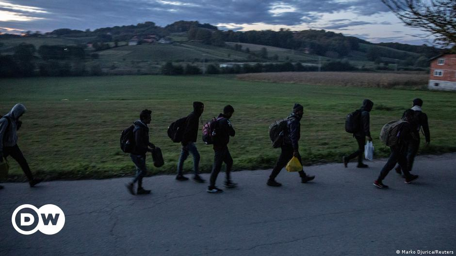 Migration: Activists block Croatia-Bosnia border in demonstration against EU policy
