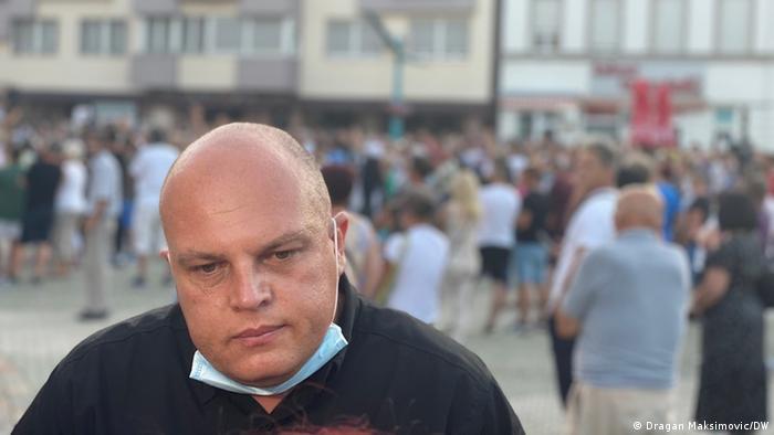 Bosnien und Herzegowina Bihac Migranten | Mustafa Ruznic (Dragan Maksimovic/DW)