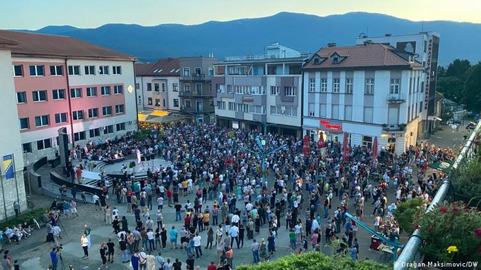Bosnien und Herzegowina Bihac Migranten (Dragan Maksimovic/DW)