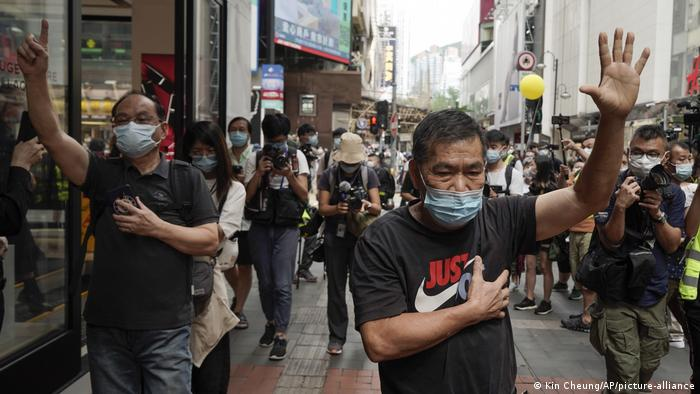 Hongkong Pro-Demokratie-Demonstration