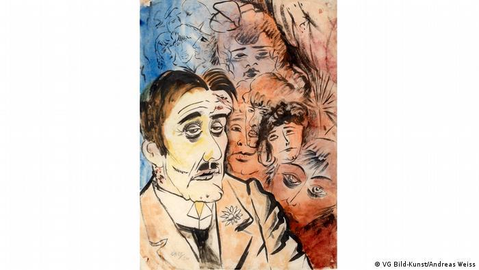 Otto Dix painting 'Mädchenhändler' (VG Bild-Kunst/Andreas Weiss)