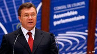 Від Януковича чекають виконання рекомендацій ПАРЄ. Інакше - санкції