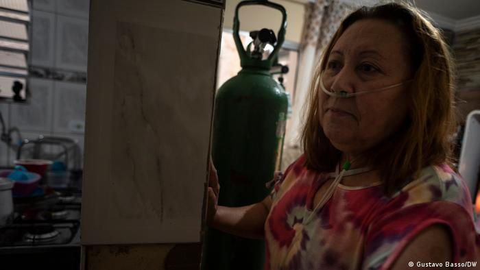 Die Corona-Überlebende Maria Alzenir Lima