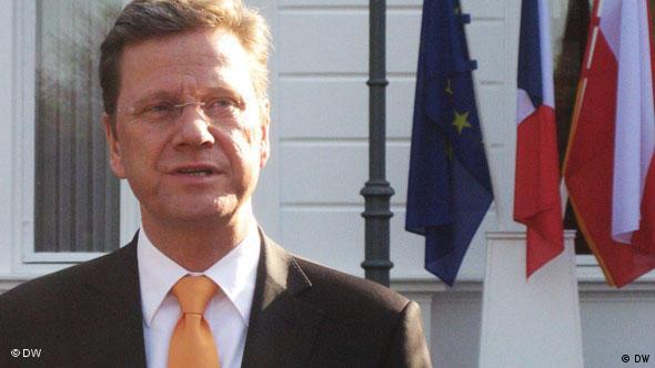 Zdaniem Guido Westerwellego Niemcy, Francja i Polska są motorem UE