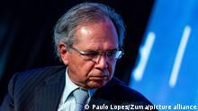 Brasilien Wirtschaftsminister Paulo Guedes